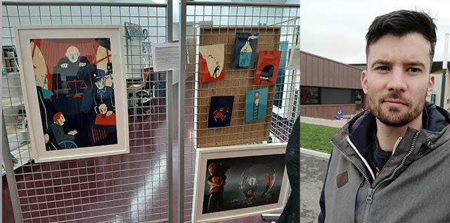 Une expo en prison